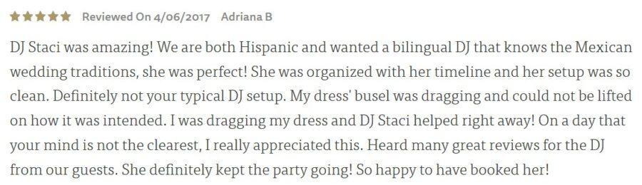 Bilingual San Diego Wedding DJ