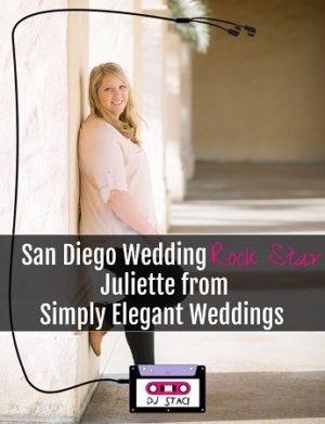 San Diego Wedding Rock Star :: Juliette from Simply Elegant Weddings