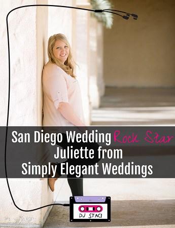 San Diego Wedding Rock Star Juliette Simply Elegant Weddings