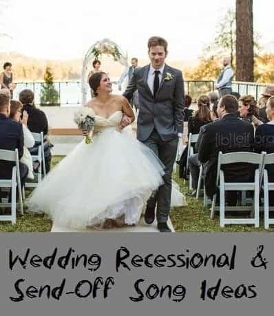 Wedding recessional send off song ideas san diego dj photo booth follow me junglespirit Gallery