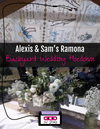 Ramona Backyard Wedding Hoedown 1