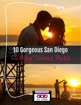 San Diego Wedding Sunset Photos 1
