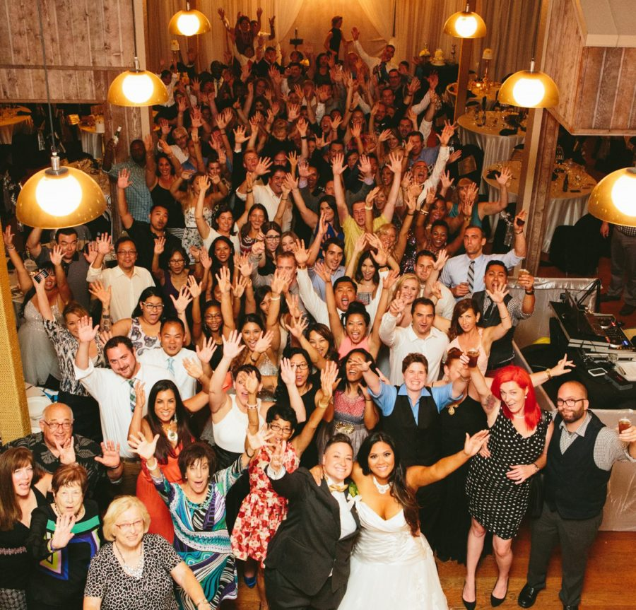 San Diego wedding DJ Group Photo