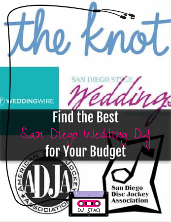Find the Best San Diego Wedding DJ for Your Budget