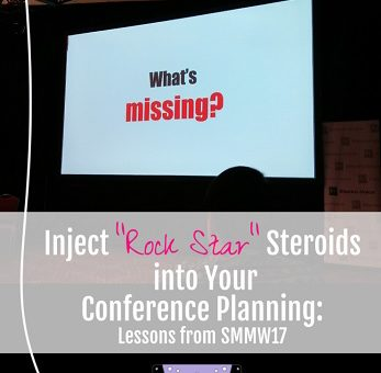 Rock Star Steroids Conference Planning SMMW17