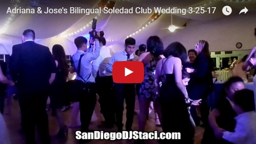 Adriana & Jose's Bilingual Soledad Club Wedding
