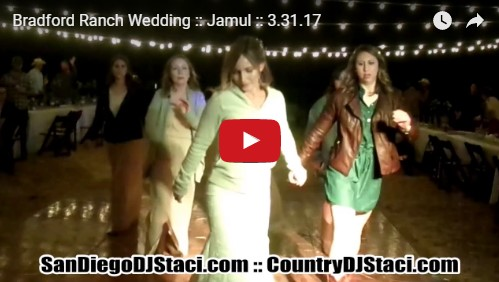 Bradford Ranch Wedding Jamul