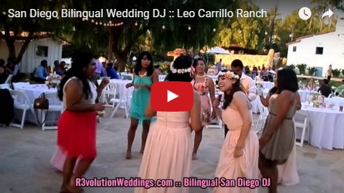 San Diego Bilingual Wedding DJ Leo Carrillo Ranch