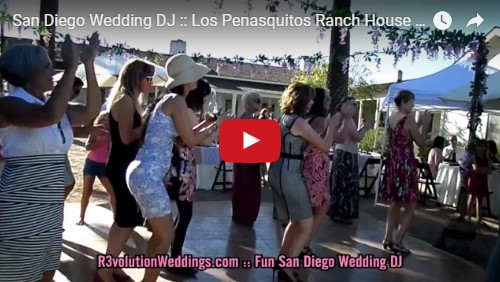 San Diego Wedding DJ Los Penasquitos Ranch House