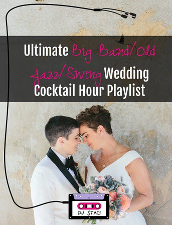 ultimate big band jazz swing wedding cocktail hour