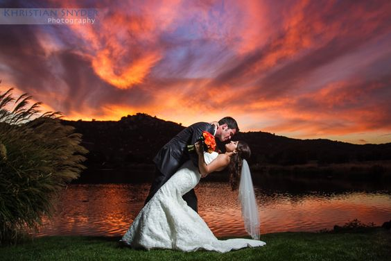 San Diego Sunset Wedding Photo 1