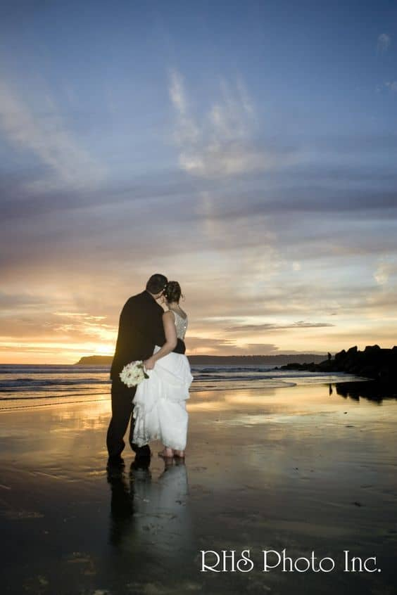 San Diego Sunset Wedding Photo 10