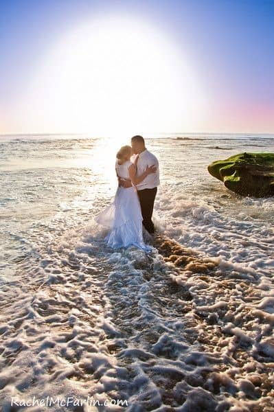 San Diego Sunset Wedding Photo 2