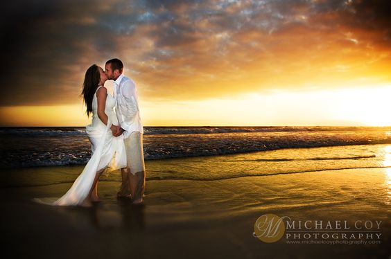 San Diego Sunset Wedding Photo 3