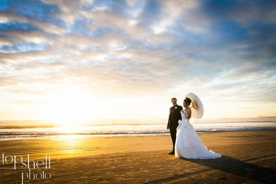 San Diego Sunset Wedding Photo 6