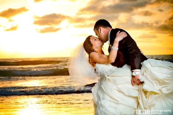 San Diego Sunset Wedding Photo 7