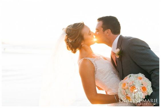 San Diego Sunset Wedding Photo 8