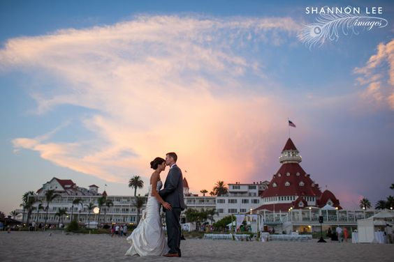 San Diego Sunset Wedding Photo 9