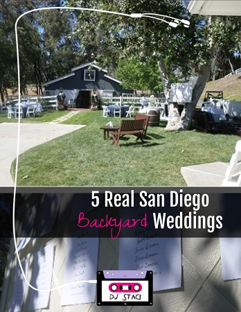 5 Real San Diego Backyard Weddings