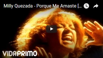 """#8 – """"Because You Loved Me"""" (Spanish Version), originally by Celine Dion  [""""Porque Me Amaste,"""" Milly Quezada…kind of a Salsa/Bachata vibe]"""