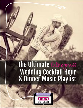 The Ultimate Bluegrass Wedding Cocktail Hour & Dinner Music Playlist