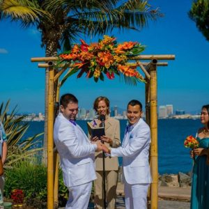 NonTraditional San Diego Wedding Officiant