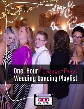 One Hour Cheese Free Wedding Dance Playlist