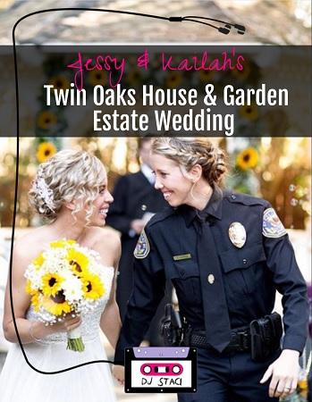 Twin Oaks House Garden Estate Wedding 9