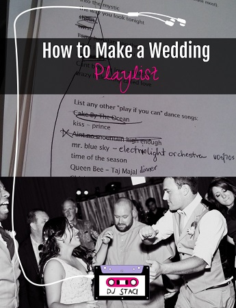 How to Make a Wedding Playlist