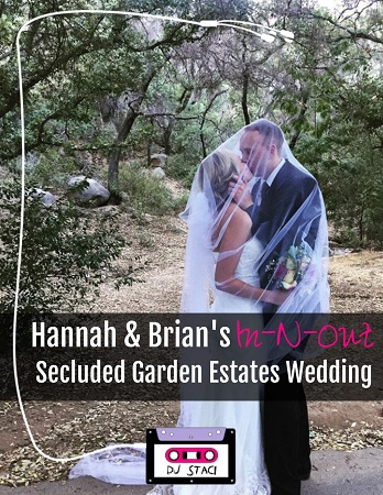 Secluded Garden Estates Wedding