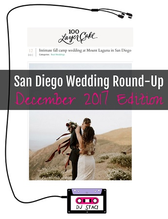 December San Diego Wedding Round-Up