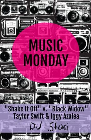 Music Monday - San Diego DJ Staci - Shake It Off Black Widow
