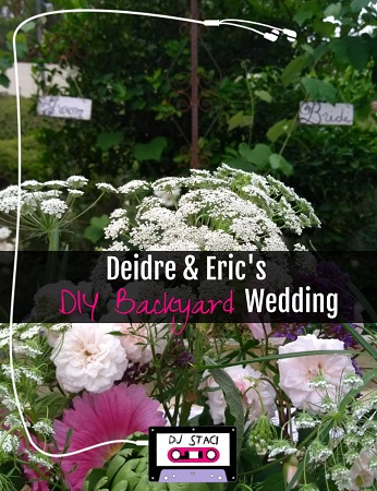 Superior Deidre U0026 Ericu0027s DIY Backyard Wedding